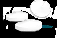 Deco M9 Plus -tukiasemat ovat pieniä ja huomaamattomia, joten ne on helppo sijoittaa.
