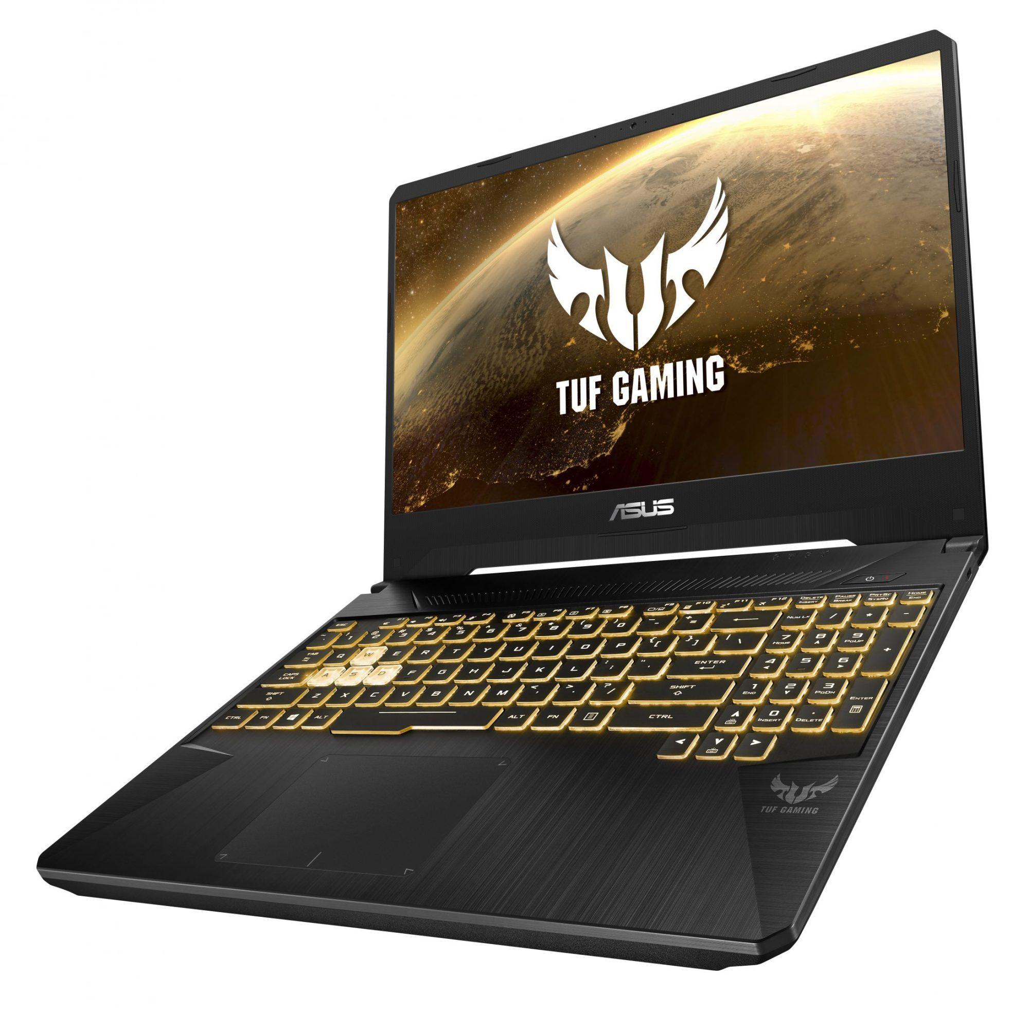 Asus TUF Gaming FX505 on vankka pelikannettava.