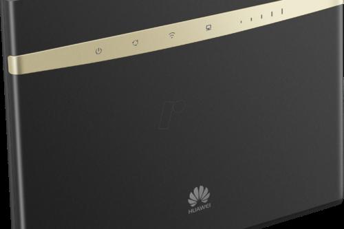 Huawei B525 -reitittimestä on musta ja valkoinen värivaihtoehto.