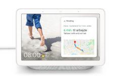 Google Nest Hub on varustettu ääniohjauksen lisäksi näytöllä.